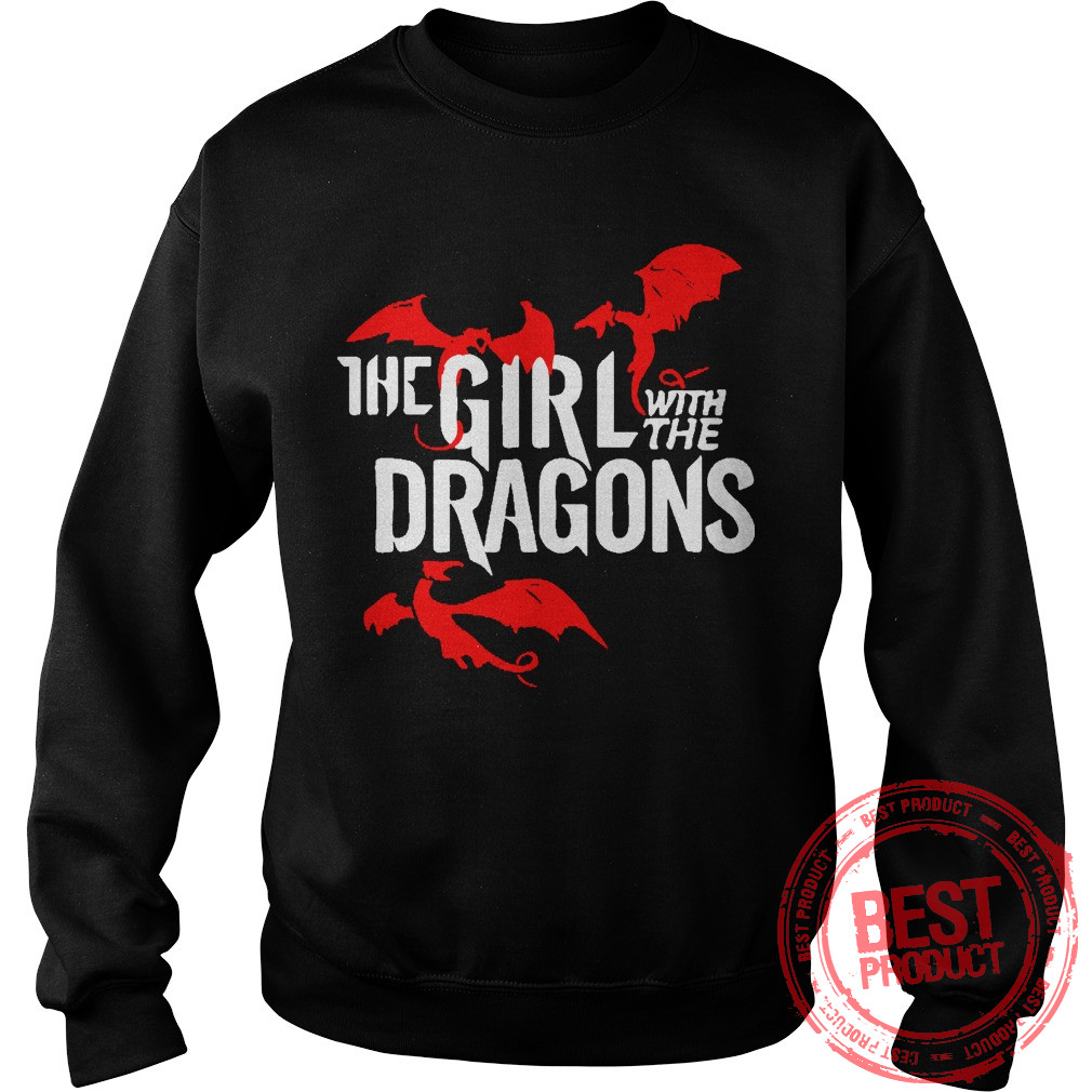 Girl Dragons Sweat Shirt
