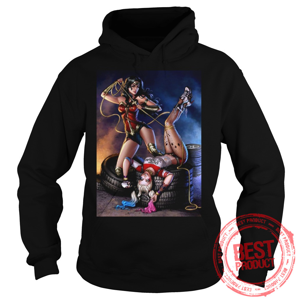 Harrley Wonder Woman Hoodie