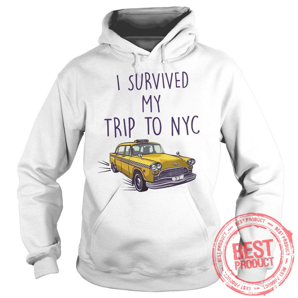 I Survived My Trip To Nyc Hoodie