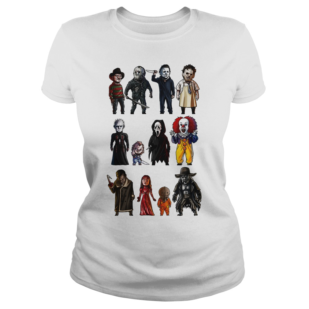 Icons Of Horror Shirt