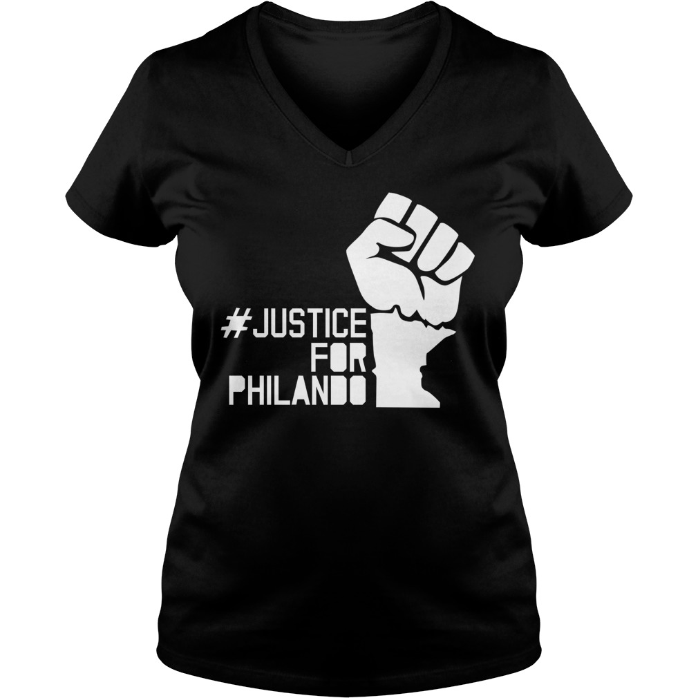 Justice Philando V Neck Shirt