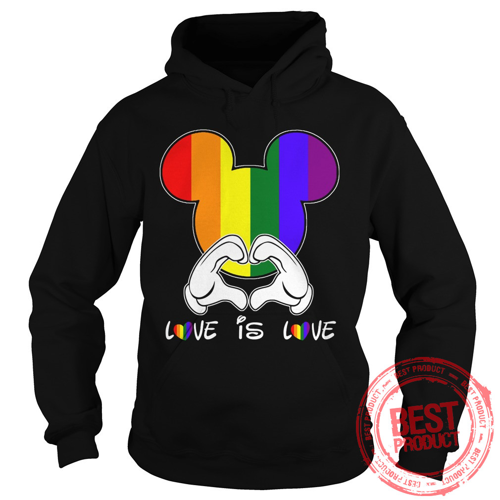 Love Love Lgbt Hoodie