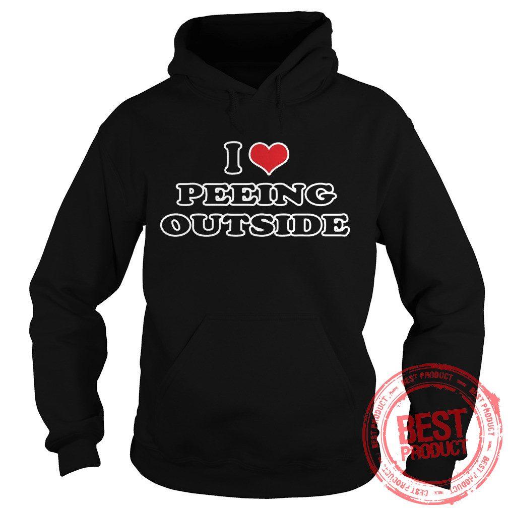 Love Peeing Outside Hoodie