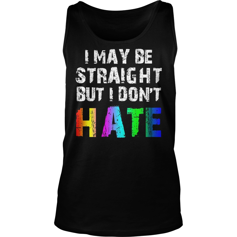 May Straight Dont Hate Lgbt Tank