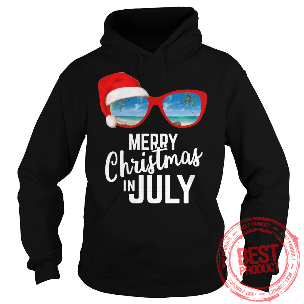 Merry Christmas July Hoodie