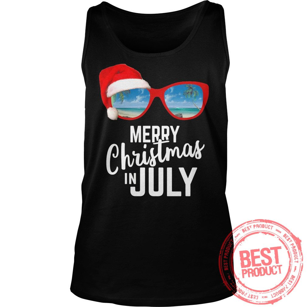 Merry Christmas July Tank Top