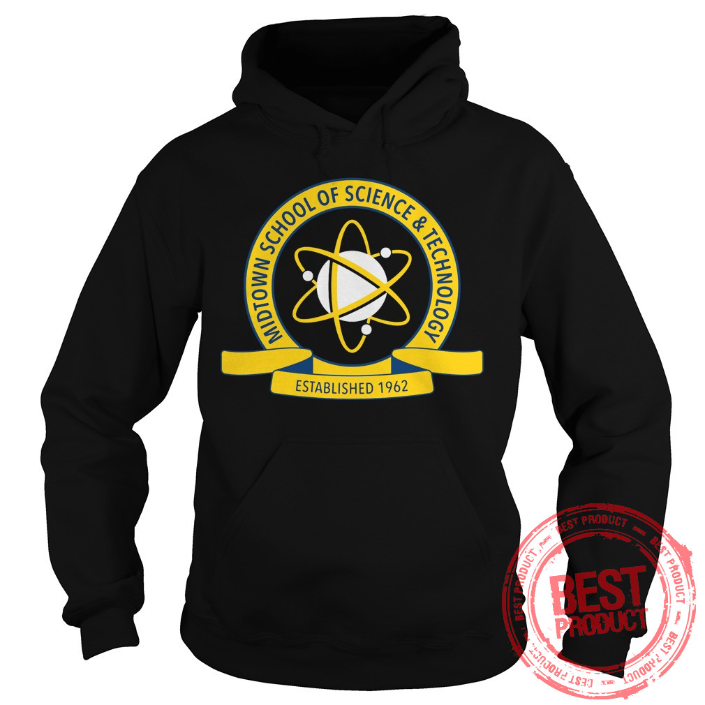 Midtown School Science Technology Logo Hoodie