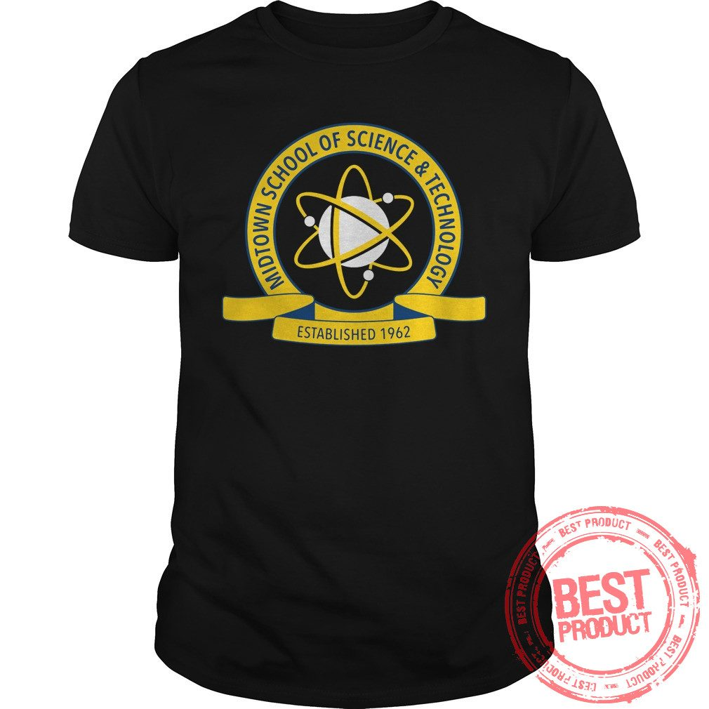 Midtown School Science Technology Logo Shirt