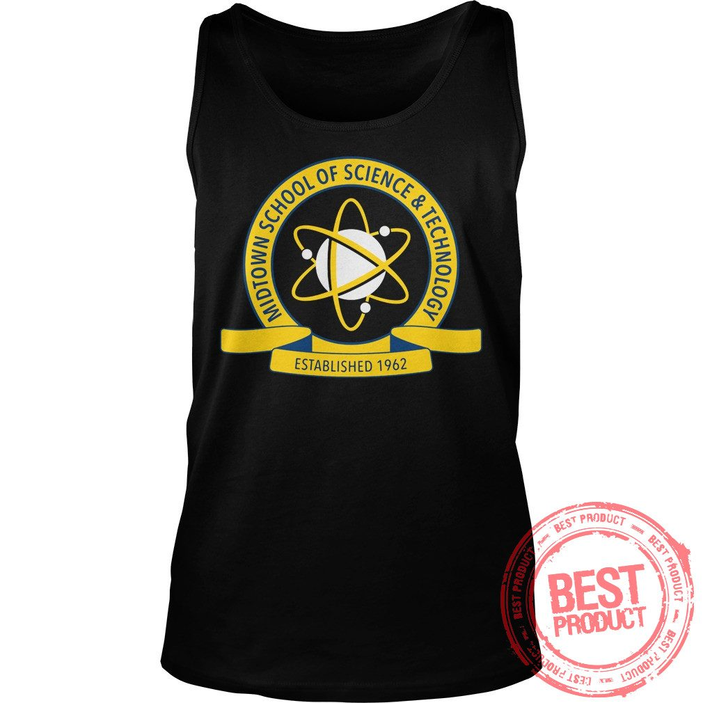 Midtown School Science Technology Logo Tank Top