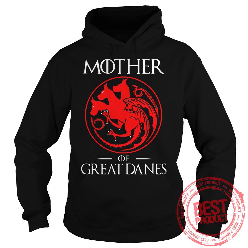 Morther Great Danes Hoodie