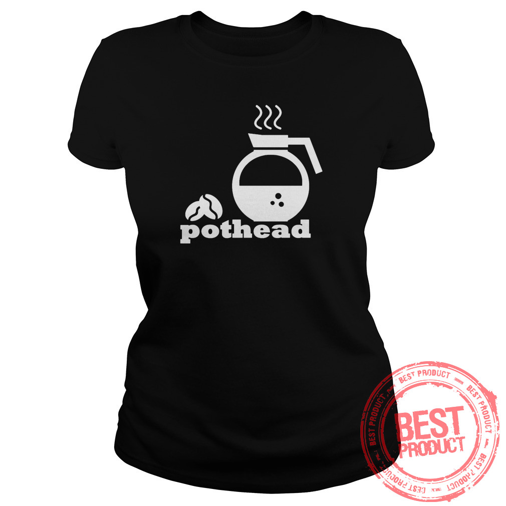 Pothead Coffee Lover Ladies Tee