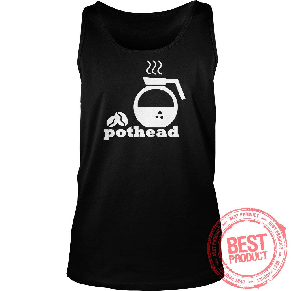 Pothead Coffee Lover Tank Top