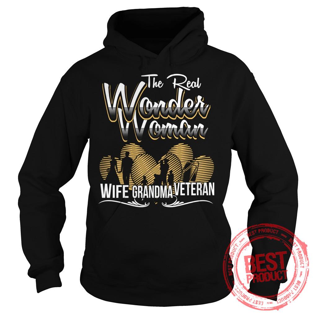Real Wonder Woman Grandma Hoodie