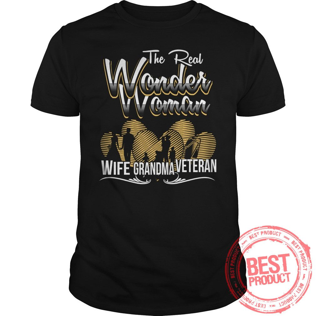 Real Wonder Woman Grandma Shirt