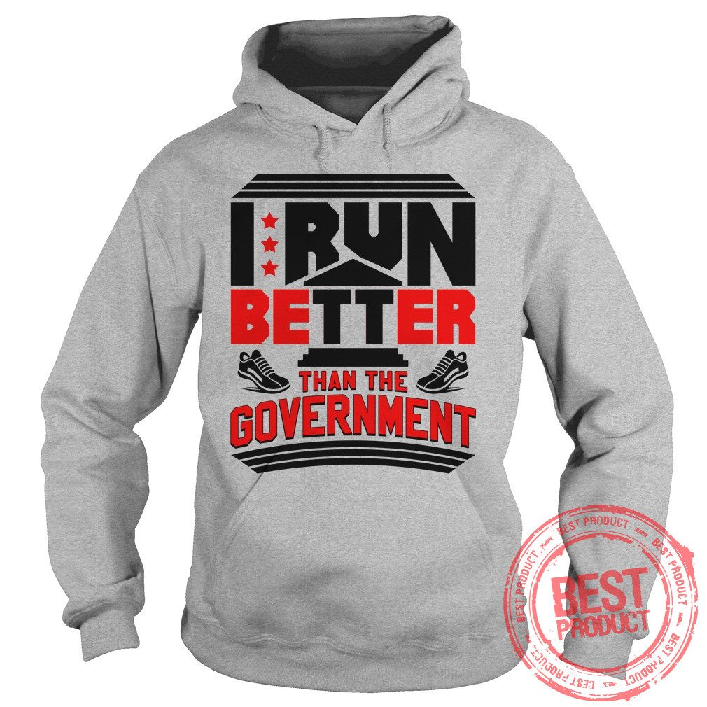 Run Better Government Hoodie