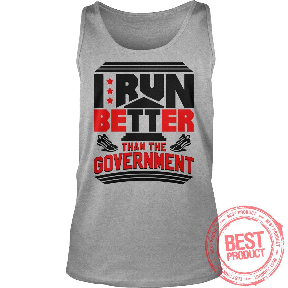 Run Better Government Tank Top