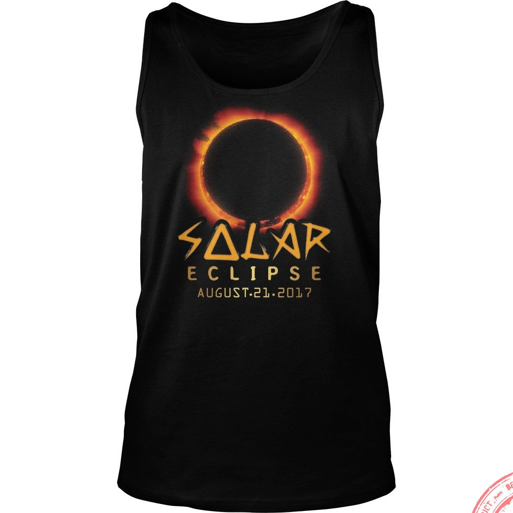 Solar Eclipse August 21 2017 Tank Top