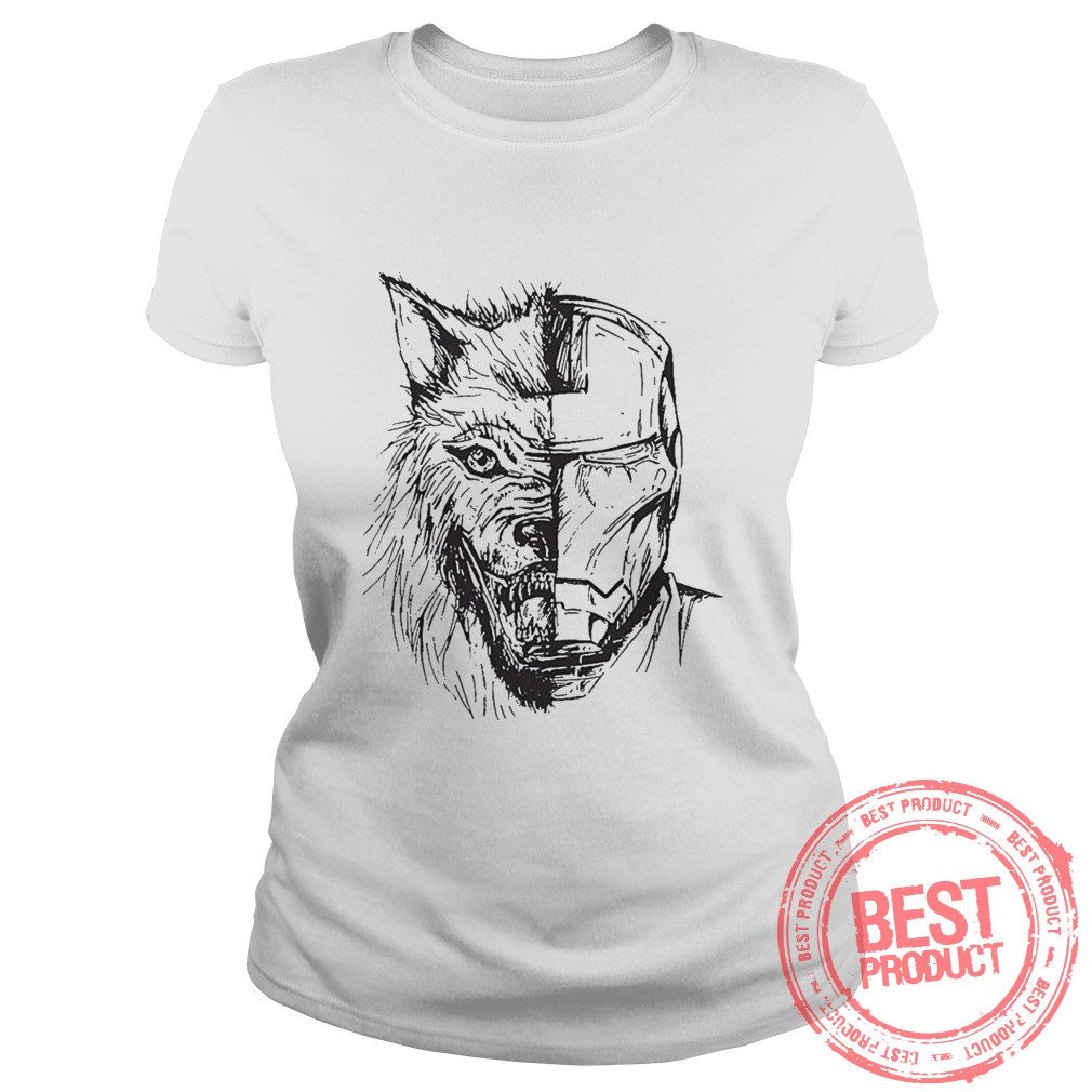 Stark Iron Man Game Thrones Ladies Tee