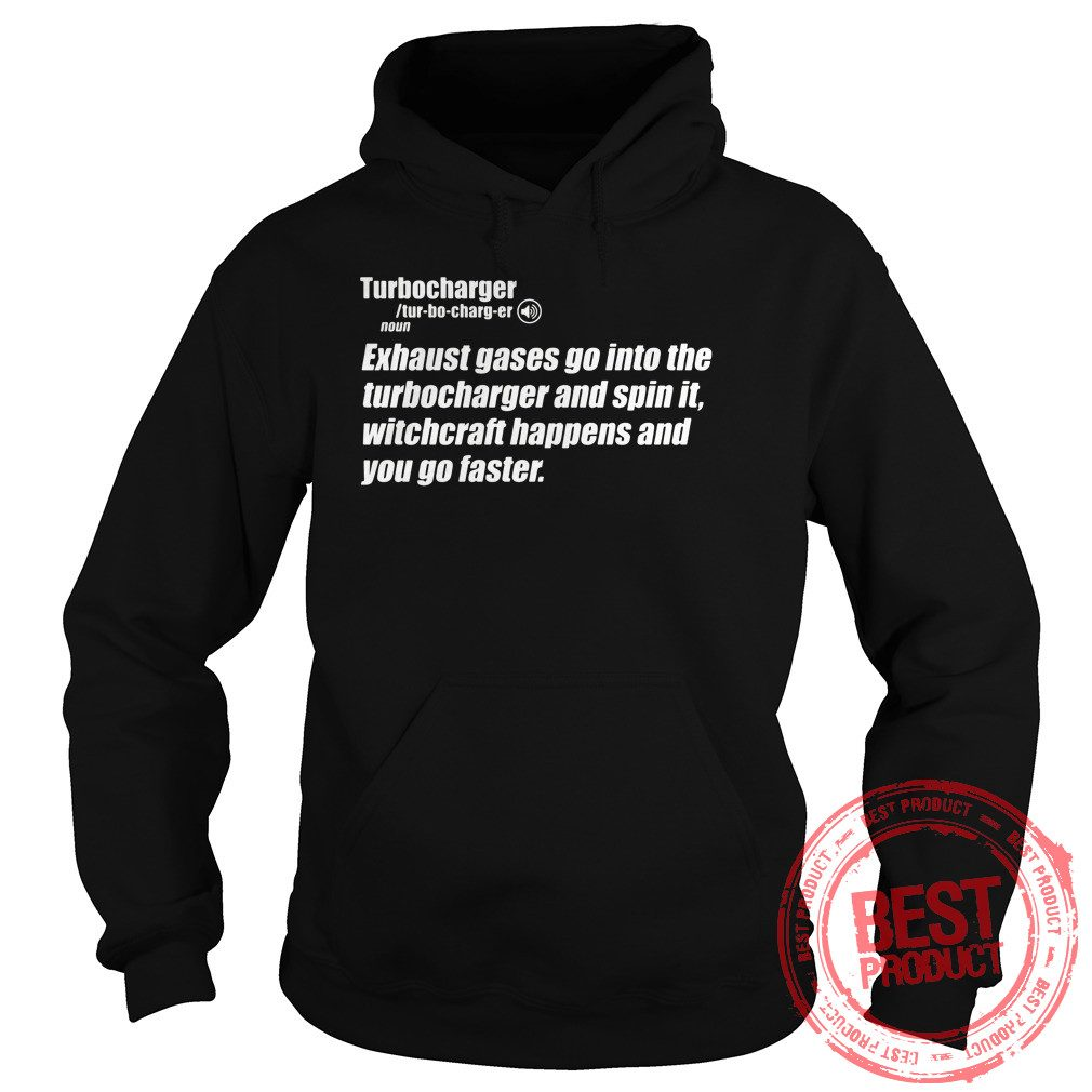 Turbocharger Definition Hoodie