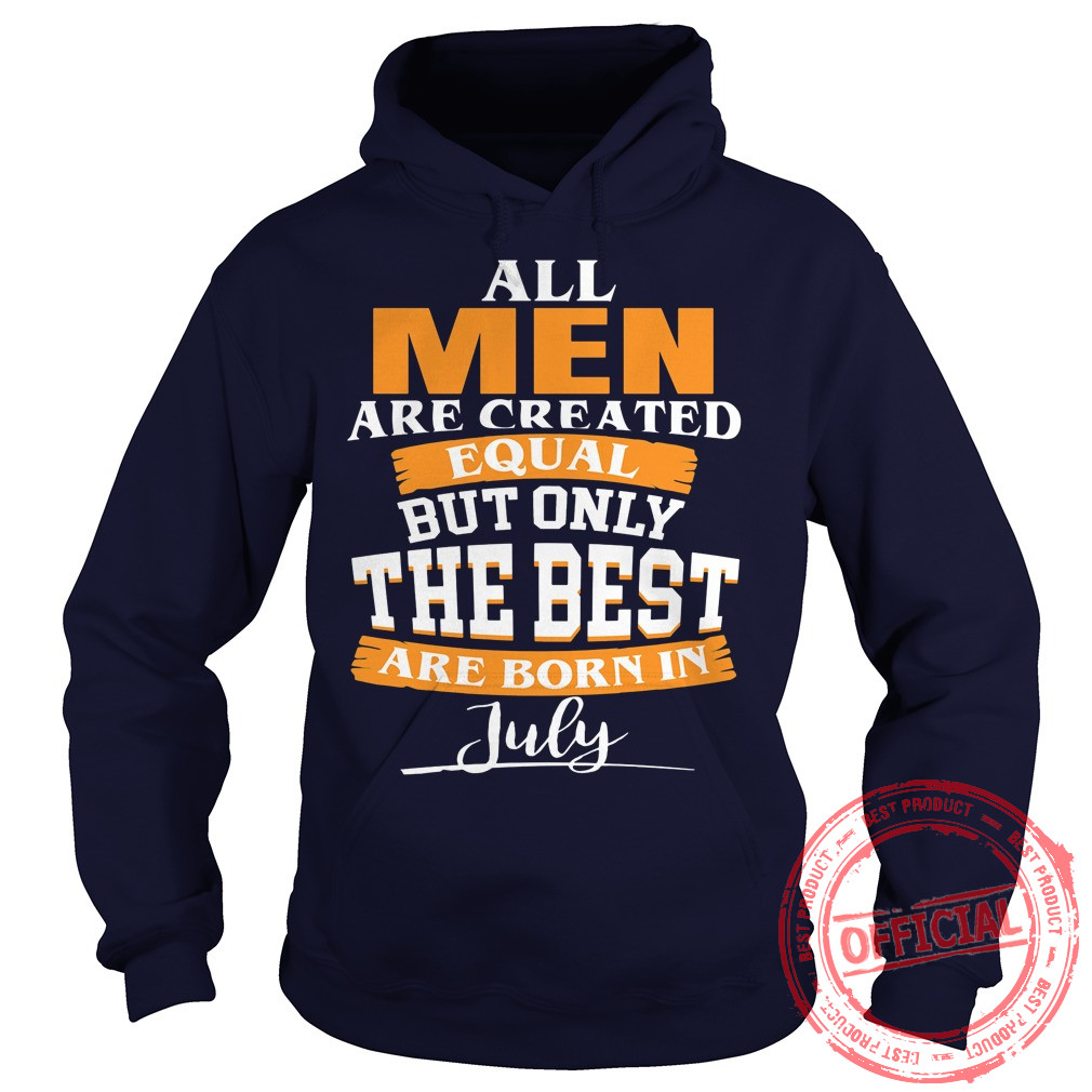 All Men Are Created Equal T Shirt.