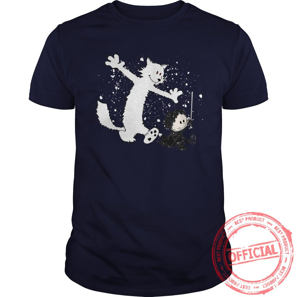 Ghost And Snow T Shirt