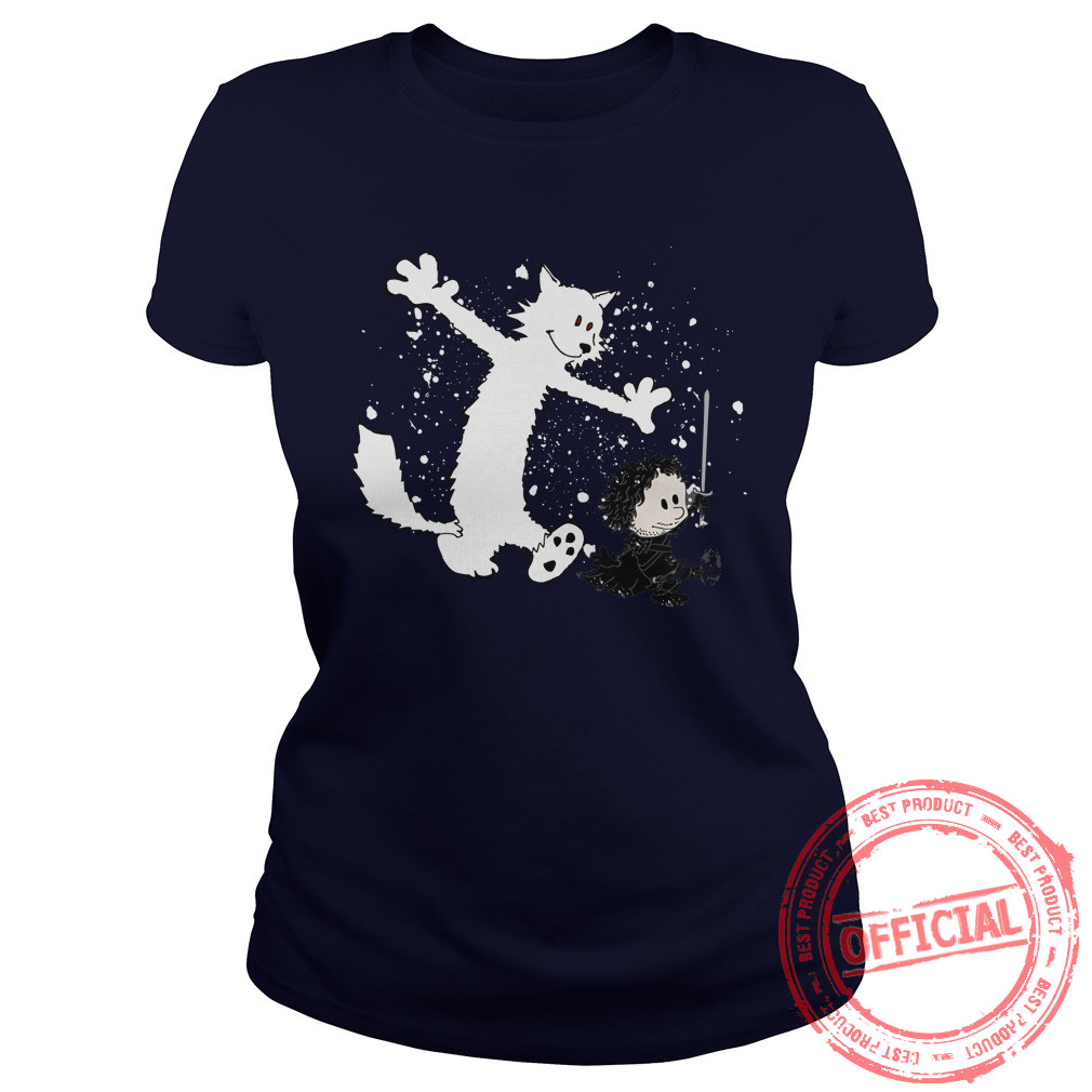 Ghost And Snow Ladies Tee