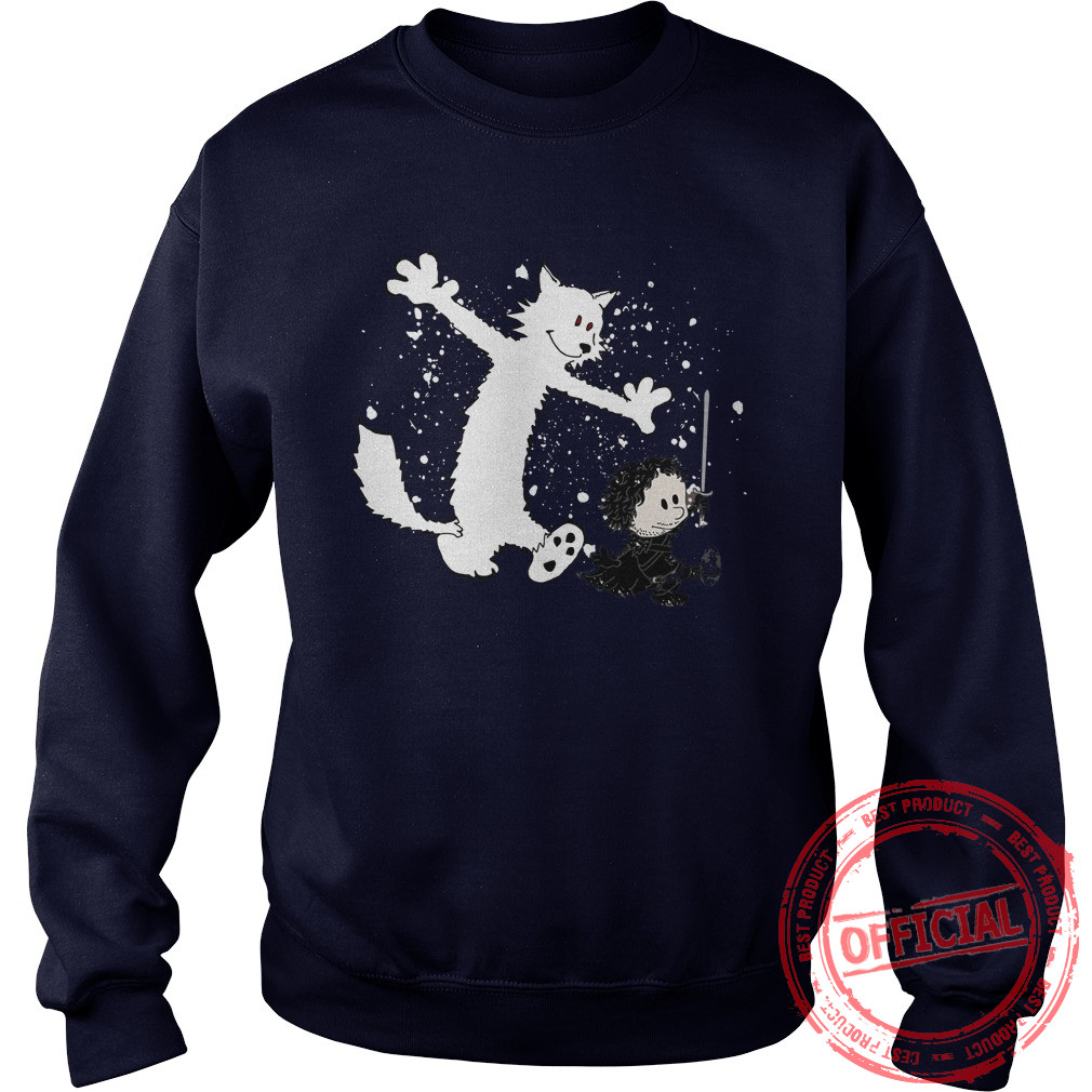 Ghost And Snow Sweater