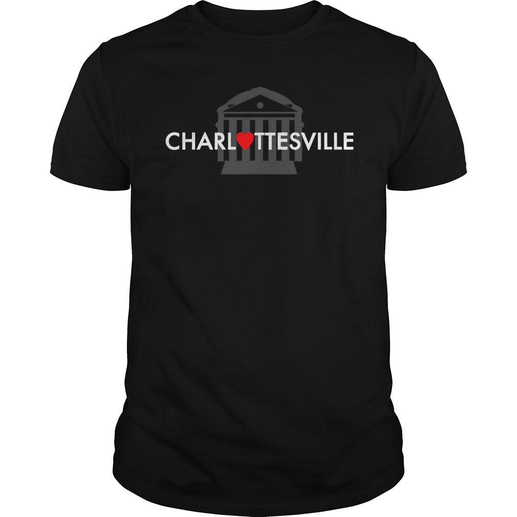 Heart Charlottesville Shirt