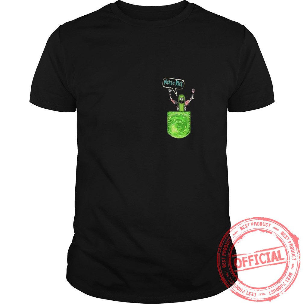 Pickle Funny Rick Pocket Shirt