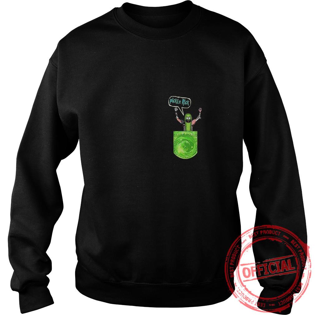 Pickle Funny Rick Pocket Sweat Shirt