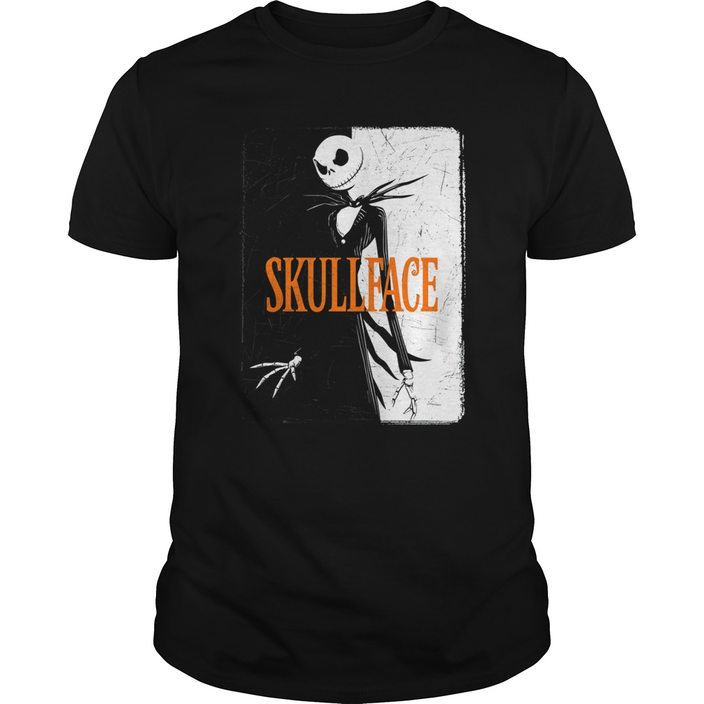 Skull Face Halloween Shirt