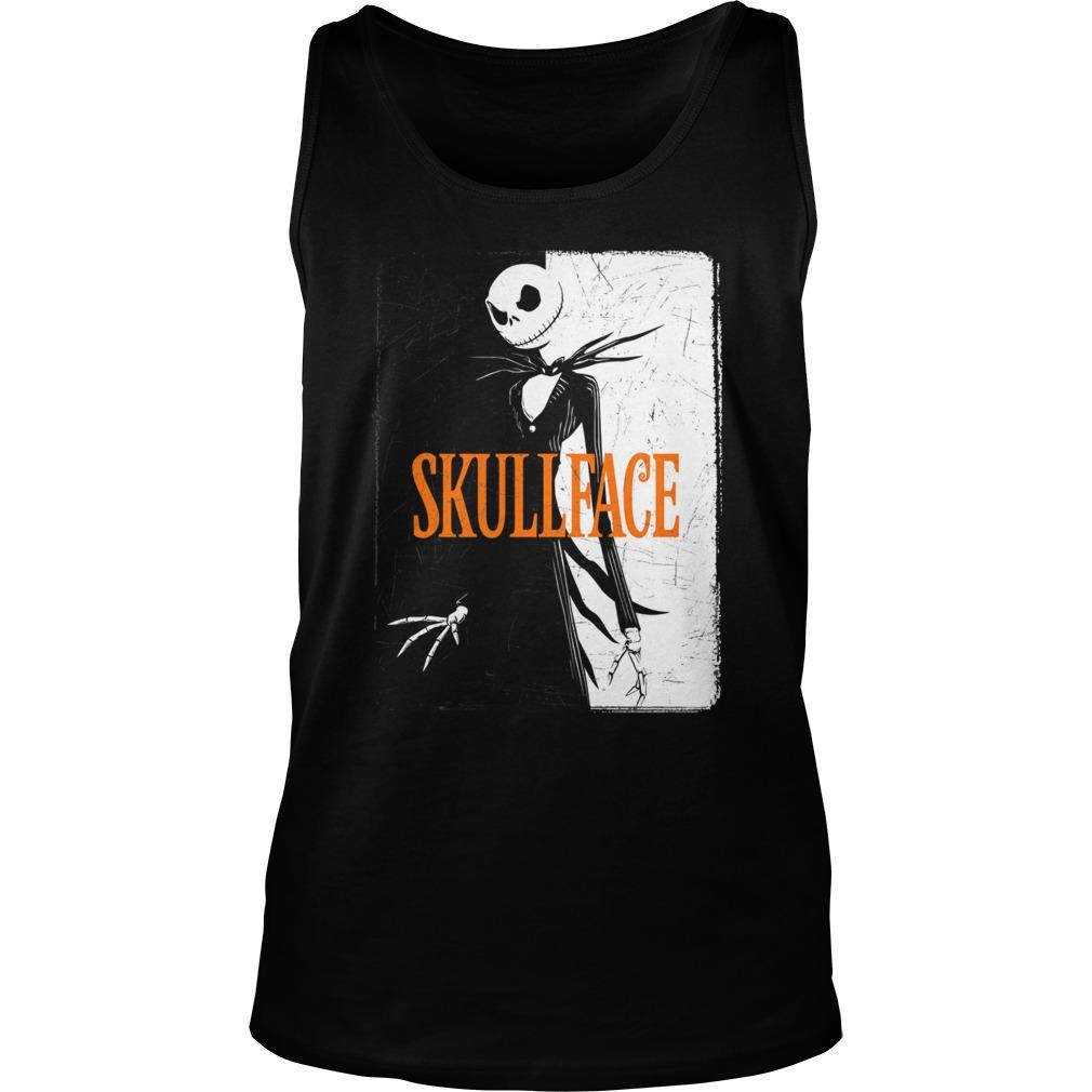 Skull Face Halloween Shirt