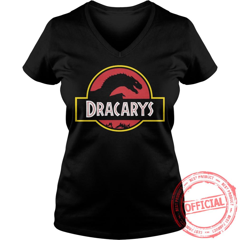 Targaryen Drogon Dracarys Jurassic Park Shirt