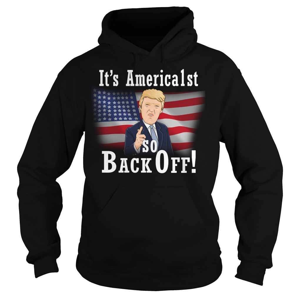 Its America1st So Back Off Christmas Sweater