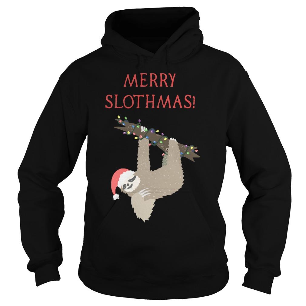 Christmas Sloth Hoodie