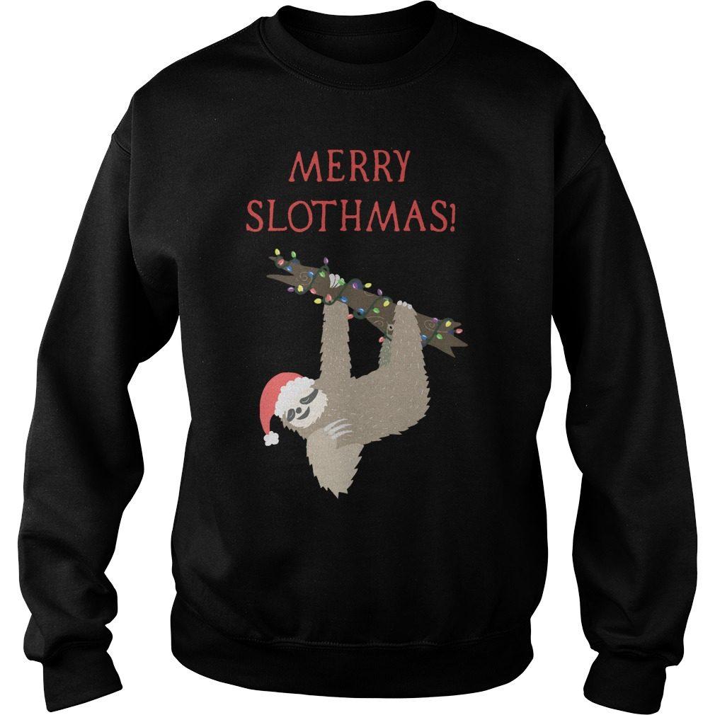 Christmas Sloth Sweater