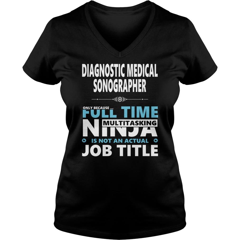 Diagnostic Medical Sonographer Shirt