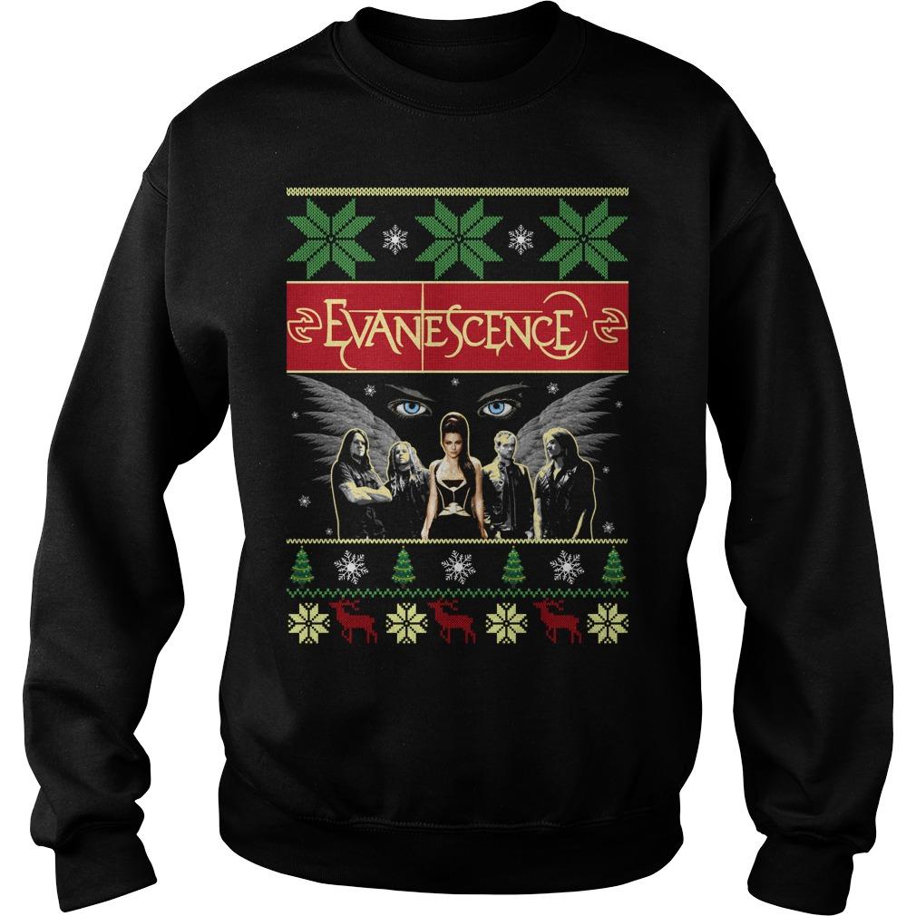 Evanescence christmas sweater, shirt and hoodie