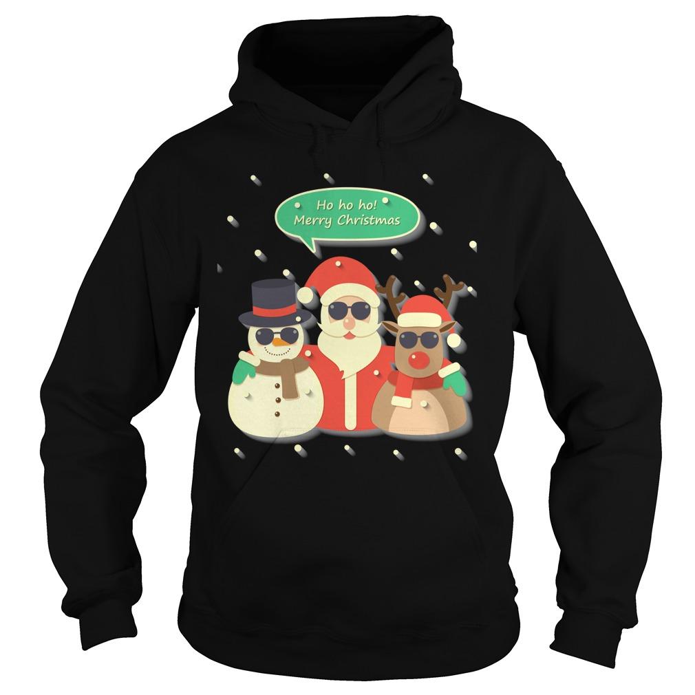 Ho Ho Ho Merry Christmas Sweater