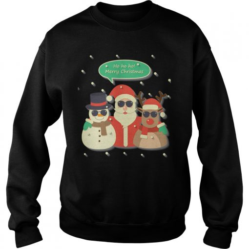 Ho Ho Ho Merry Christmas Sweater