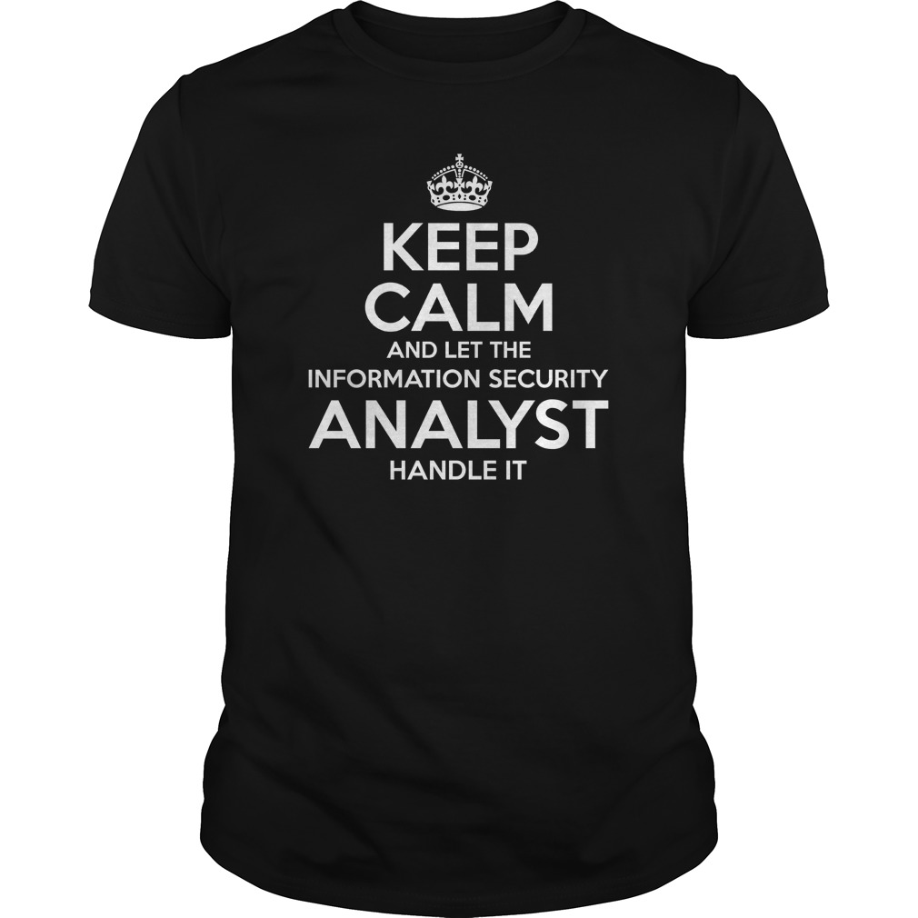 Information Security Analyst Shirt