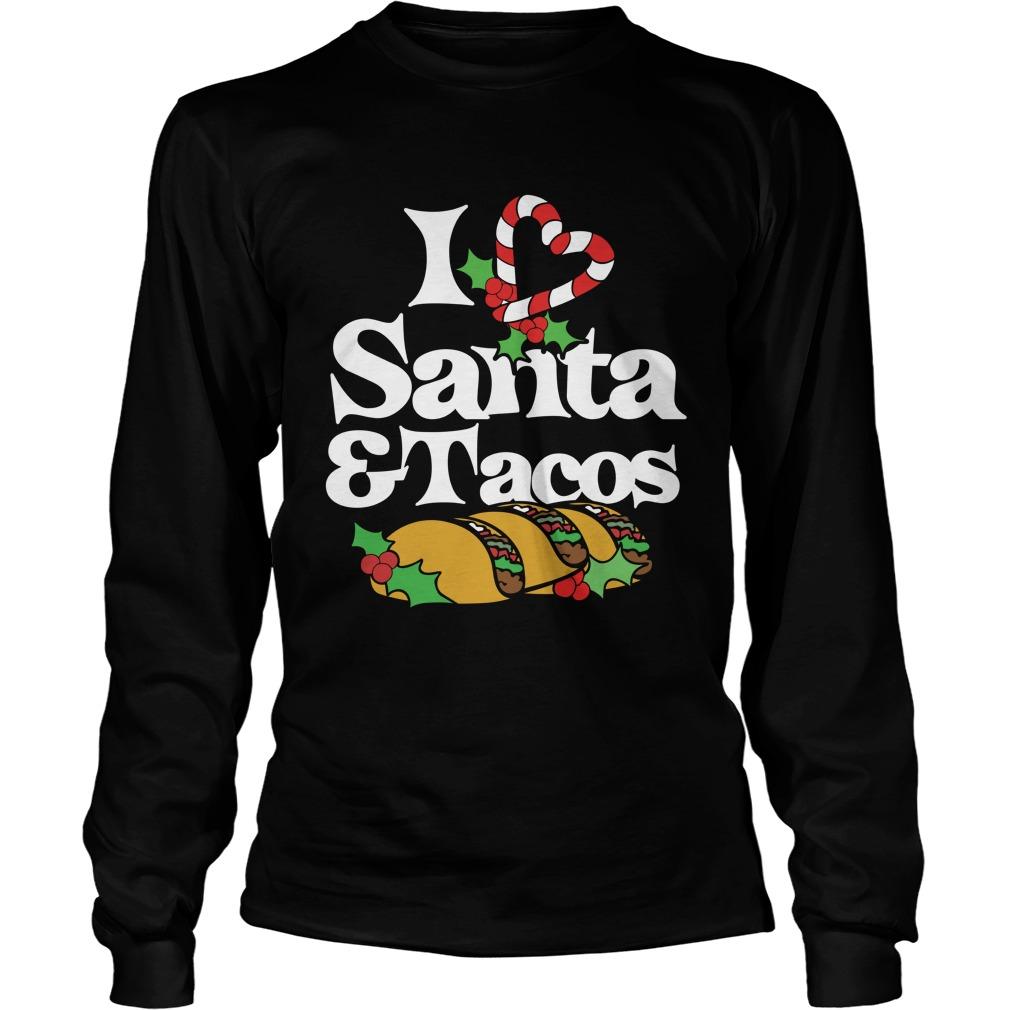 I Love Santa And Tacos Sweater