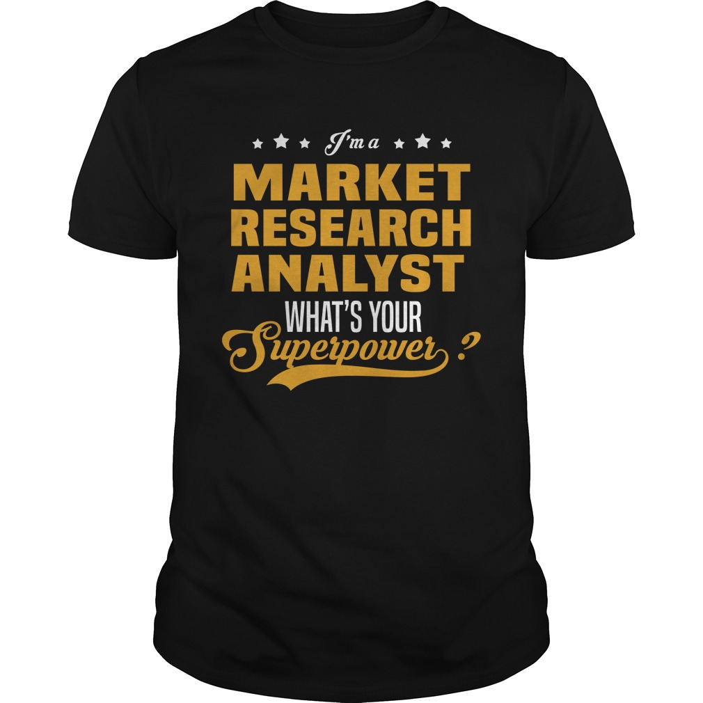 Market Research Analyst Shirt