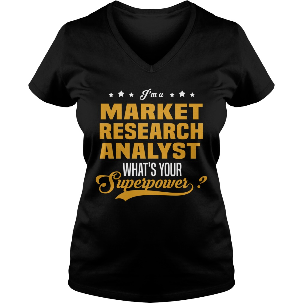 Market Research Analyst Shirt
