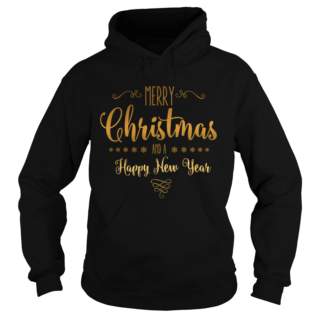 Merry Christmas And A Happy New Year Sweater