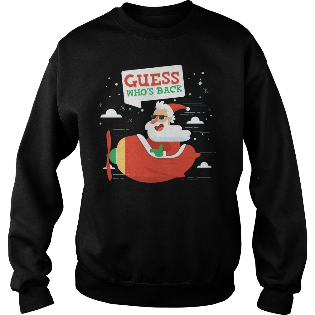 Santa Guess Who's Back Sweater