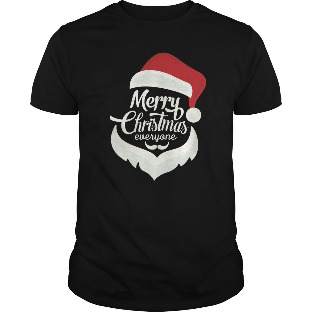 Santa Merry Christmas Everyone Sweater