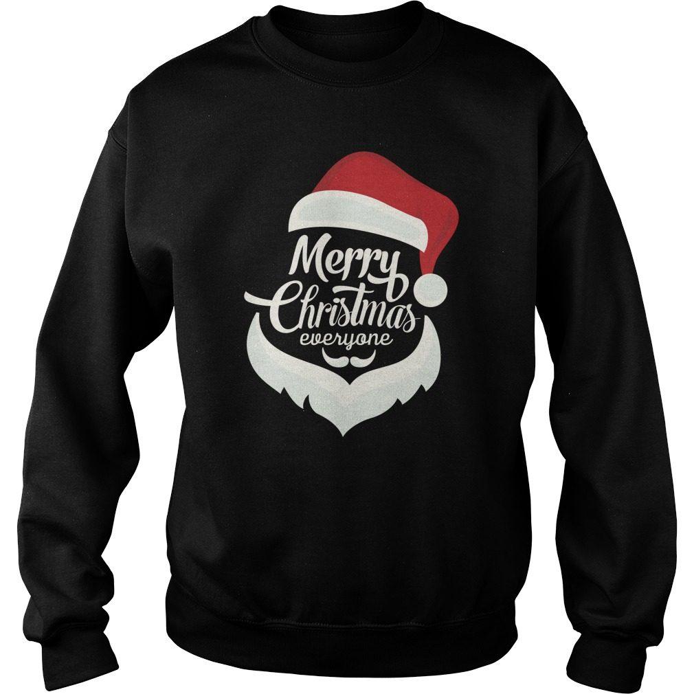 Santa Merry Christmas Everyone Sweater