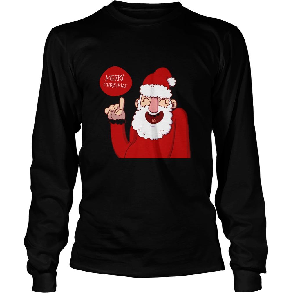 Santa Merry Christmas Sweater
