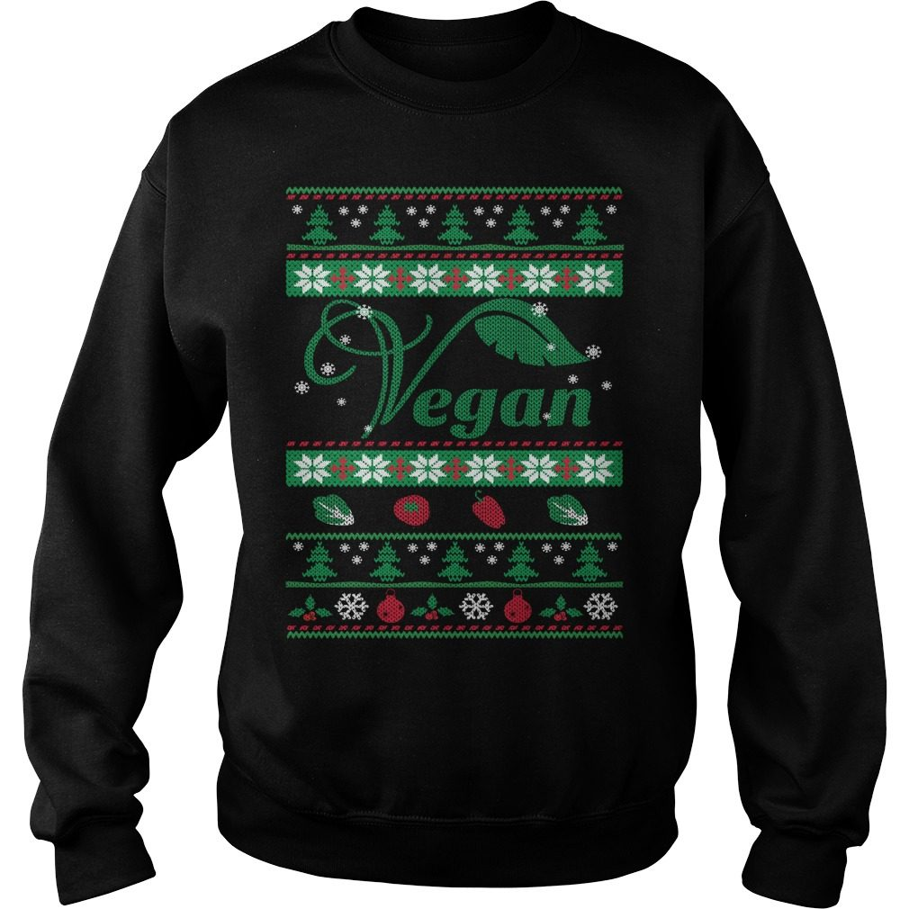 Vegan Ugly Christmas Sweater
